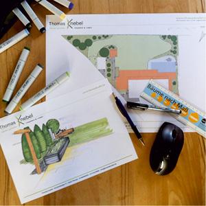 Garten-Konzept Garten-Planung Garten-Gestaltung