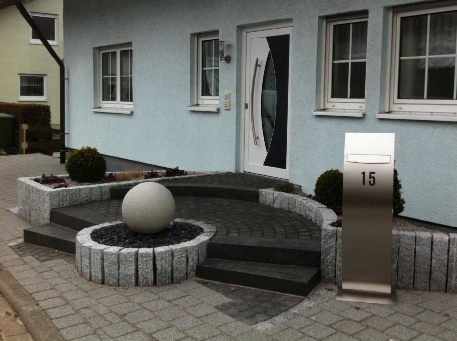 Haus Eingang der etwas andere hauseingang knebel gärten gestalten